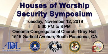House of Worship Security Symposium tickets