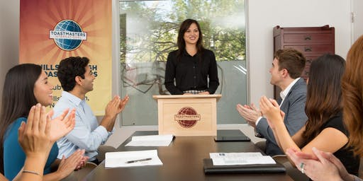 TriParish Toastmasters Open House Event
