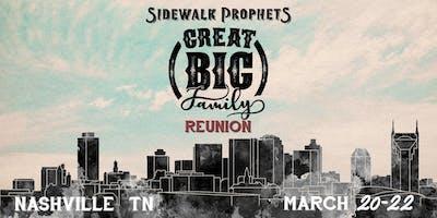 Sidewalk Prophets - Great Big Family Reunion - Nashville, TN