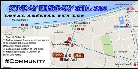 Valentine's Weekend Fun Run '5K on the RA' (FIRST 25 PARTICIPANTS FREE) tickets