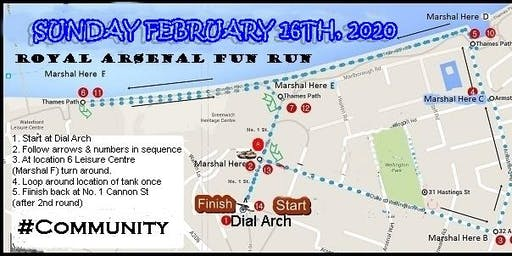 Valentine's Weekend Fun Run '5K on the RA' (FIRST 25 PARTICIPANTS FREE)