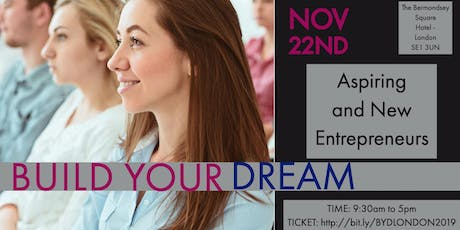 Build Your Dream - For Aspiring and New Entrepreneurs tickets