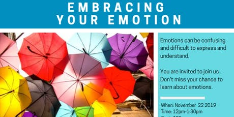 EMBRACING EMOTIONS tickets