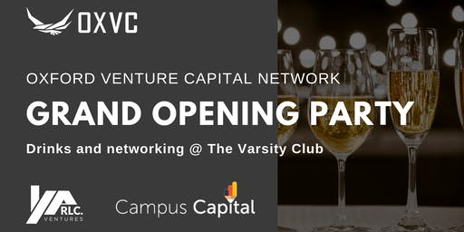 OXVC Grand Opening Party