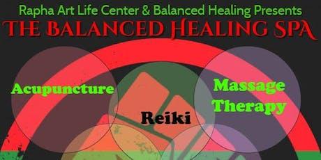 The Balanced Healing Spa tickets