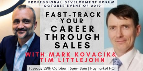 Fast-track Your Career through Sales tickets