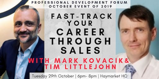 Fast-track Your Career through Sales