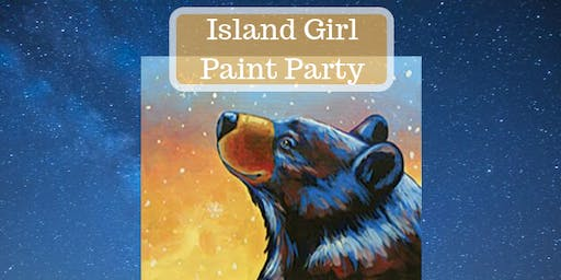 Island Girl Paint Party at Skookum Brewery