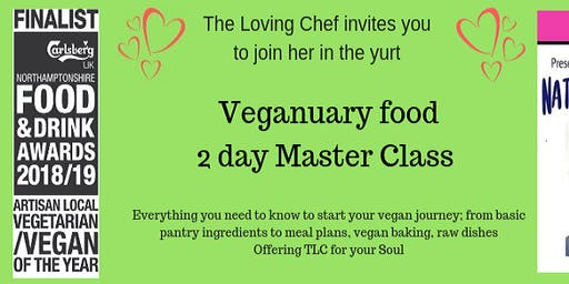 Veganuary Food 2 day Master Class