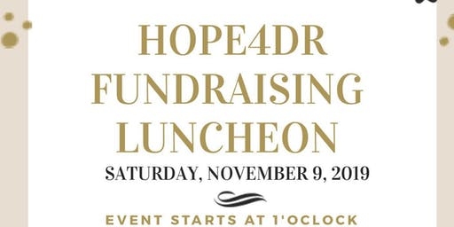 HOPE4DR Fundraising Luncheon