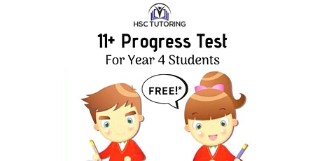 FREE 11+ Diagnostic Test (Year 3/4) tickets