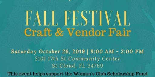 5th Annual Woman's Club Craft & Vendors Show