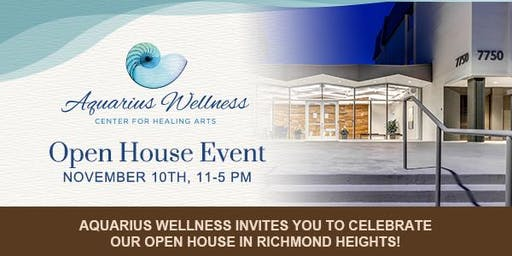 Aquarius Wellness Center For Healing Arts - Open House Event