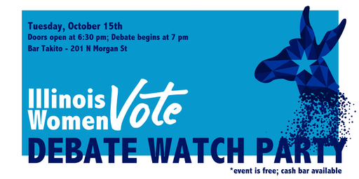 Illinois Women Vote Debate Watch Party