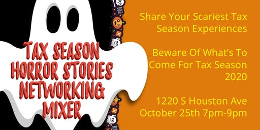 Tax Season Horror Stories: Networking Mixer