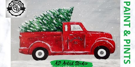 Paint & Pints - Truck & Tree - with AD Artist Studio tickets