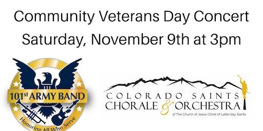 Community Veterans Day Concert