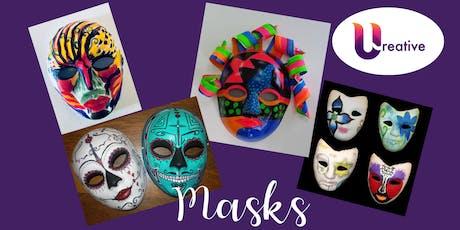 Creativity Nite - Masks tickets