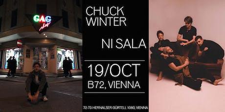 Chuck Winter X Ni Sala | B72, Vienna Tickets