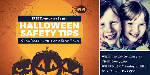 Free Halloween Safety Event