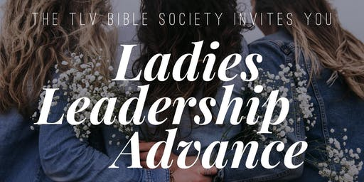 TLV Ladies Leadership Advance 2019