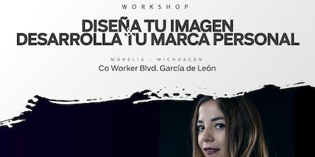 """Workshop """"Diseña tu imagen & desarrolla tu marca personal"""" entradas"""