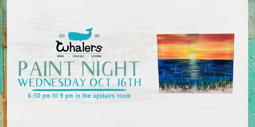 Paint Night at Whalers!