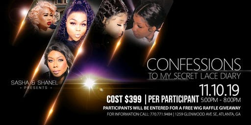 Confessions to my Secret Lace Diary Seminar Class