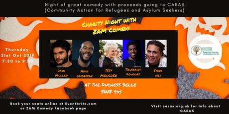 Charity Night with ZAM Comedy tickets