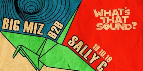 WTS Presents: Big Miz B2B Sally C tickets