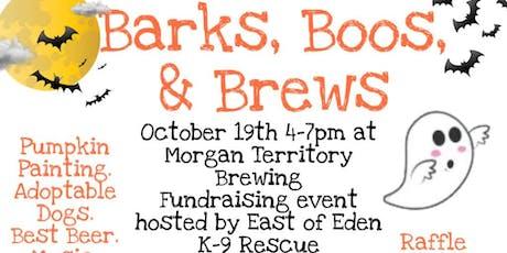 Barks, Boos, & Brews! tickets
