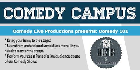 Comedy Campus : Comedy 101 tickets
