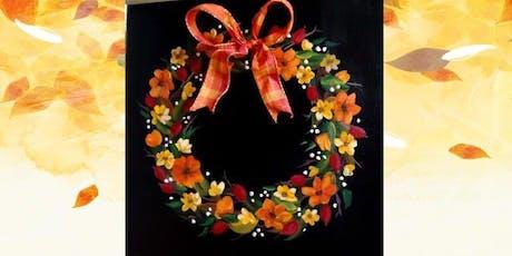 Fabulous Fall Wreath tickets