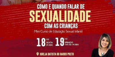 Mini-curso COMO E QUANDO FALAR SOBRE SEXUALIDADE COM CRIANÇAS