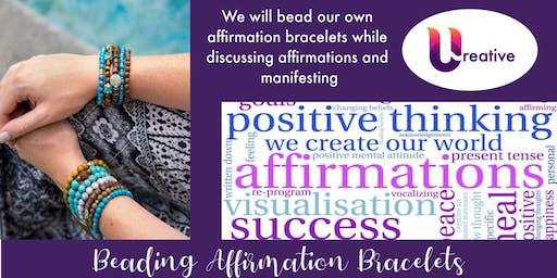 Creativity Nite - Beading Affirmation Bracelets