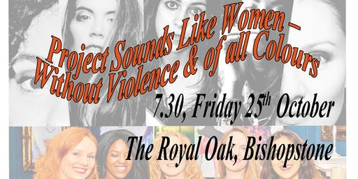 Sounds Like Women 'Without Violence & of all Colours' (live music & panel)