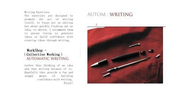 Writter AUTOM Series: Automatic Writing Workshop