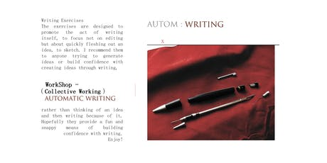 Writter AUTOM Series: Automatic Writing Workshop tickets