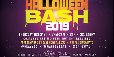 Club Echelon Official Halloween Bash presented by 9Rayz Ent.