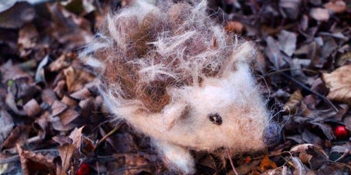 Needle felted Hedgehog Workshop