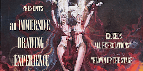 Drawing Cabaret Couture Immersive Drawing Experience tickets