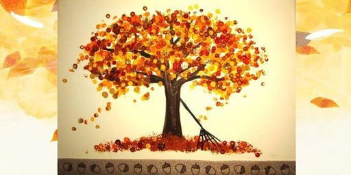 Kid's Paint! Fall Tree