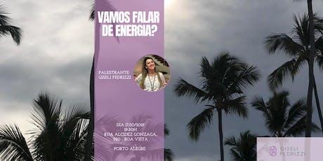 Vamos falar de Energia? ingressos