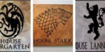 Sign Making Art Class   Game of Thrones