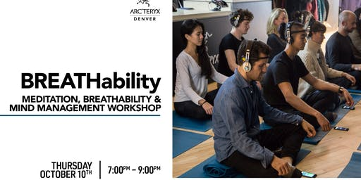 BREATHability - A workshop on breathing, meditation and mindset.