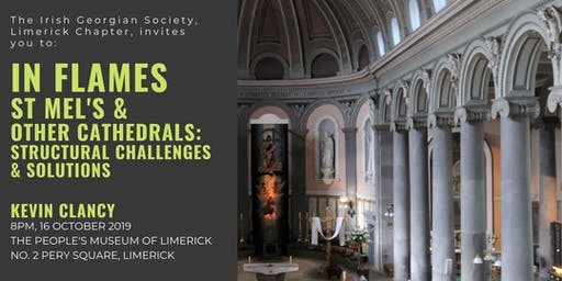Lecture: In Flames: St Mel's and Other Cathedrals by Kevin Clancy