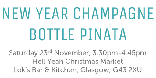 Make Your Own Champagne Bottle Pinata
