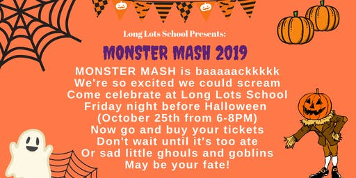 LLS Monster Mash 2019 - Friday, October 25th, 6-8pm