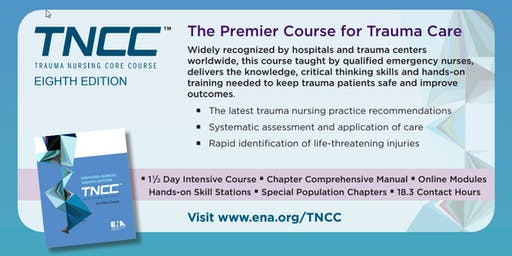 TNCC v8 Provider 2-Day Course 12/12/19 - 12/13/19