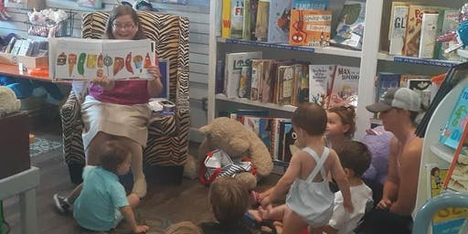 Storytime with Paula! (Ages 2-6) at Page and Palette!